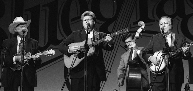 Bluegrass Nights: Bill Monroe, Ricky Skaggs, Roy Huskey Jr., Earl Scruggs