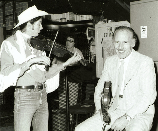 Woody Paul and Tater Tate; Grand Ole Opry; Fiddlers