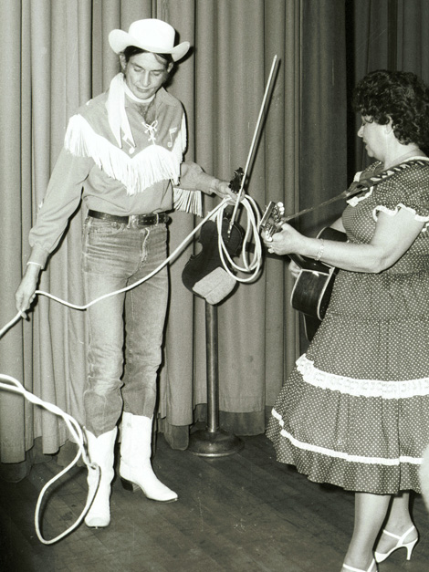 Woody Paul and Wilma Lee Coooper, Grand Ole Opry